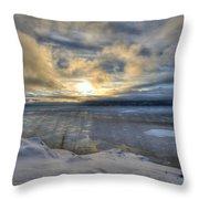 The Shortest Day Throw Pillow