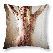 The Shower Throw Pillow