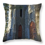 The Shrine Of St Therese Throw Pillow