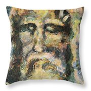 The Shroud Throw Pillow