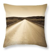 The Side Road 2 Throw Pillow