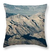The Sierra Nevadas Throw Pillow