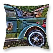 The Sign Of The Star Throw Pillow