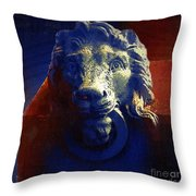 The Silence Of Stone Throw Pillow