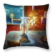 The Silence Of The Hills Throw Pillow