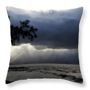 The Silver Lining Throw Pillow