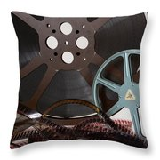 The Silver Screen Throw Pillow