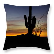 The Simple Beauty Of A Sunrise  Throw Pillow