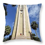 The Singing Tower  Throw Pillow