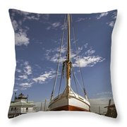 The Skipjack Rosie Parks Throw Pillow