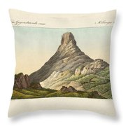 The Skuir On The Egg Island Throw Pillow