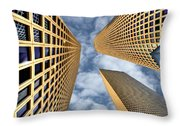 The Sky Is The Limit Throw Pillow by Ron Shoshani
