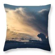 The Sky Serpent Throw Pillow