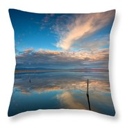 The Sky Whispered Throw Pillow