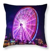 The Skywheel Throw Pillow