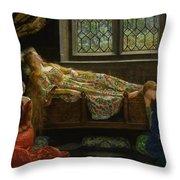 The Sleeping Beauty Throw Pillow