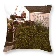 The Small Chapel On The Bay Throw Pillow