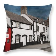 The Smallest House In Great Britain Throw Pillow