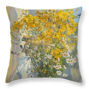 The Smell Of Summer Throw Pillow