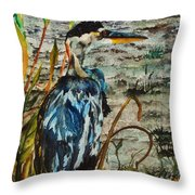 The Soft Part Of The Day Throw Pillow