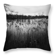 The Softness Of Nature Throw Pillow