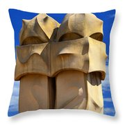 The Soldiers Throw Pillow