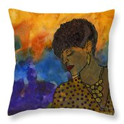 The Solitude Of My Experience Throw Pillow