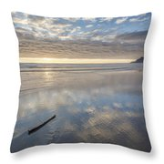 The Song's End Throw Pillow by Jon Glaser