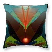 The Soul Vase Throw Pillow