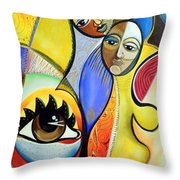 The Soulmate Throw Pillow