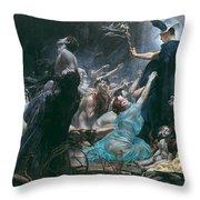 The Souls Of Acheron Throw Pillow