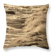 The Sound And The Fury Throw Pillow