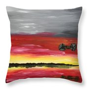 The Sound Of Freedom Throw Pillow