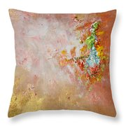 The Sound Of Sunshine Throw Pillow by Julia Apostolova