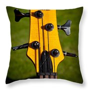 The Soundgear Guitar By Ibanez Throw Pillow by David Patterson