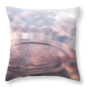 The Sounds Of Silence. Sacred Music Throw Pillow by Jenny Rainbow