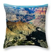 The South Rim Throw Pillow