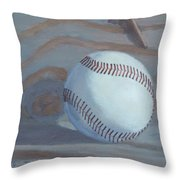 The Souvenir - Art By Bill Tomsa Throw Pillow