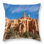 The Speaker And The Seer Throw Pillow