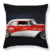 The Special 1957 Buick Throw Pillow