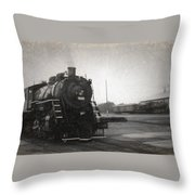 The Spencer Yard Throw Pillow
