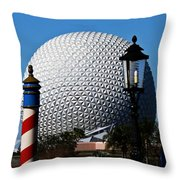 The Sphere Throw Pillow