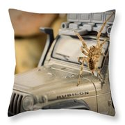 The Spider Series IIi Throw Pillow