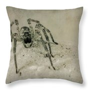 The Spider Series Xi Throw Pillow