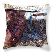 The Spigot Throw Pillow