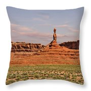 The Spindle - Valley Of The Gods Throw Pillow