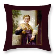 The Spinner Detail Throw Pillow