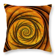 The Spiral Throw Pillow