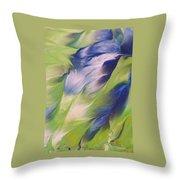 The Spirit Of A Hummingbird Throw Pillow