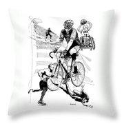 The Spirit Of Freedom Throw Pillow